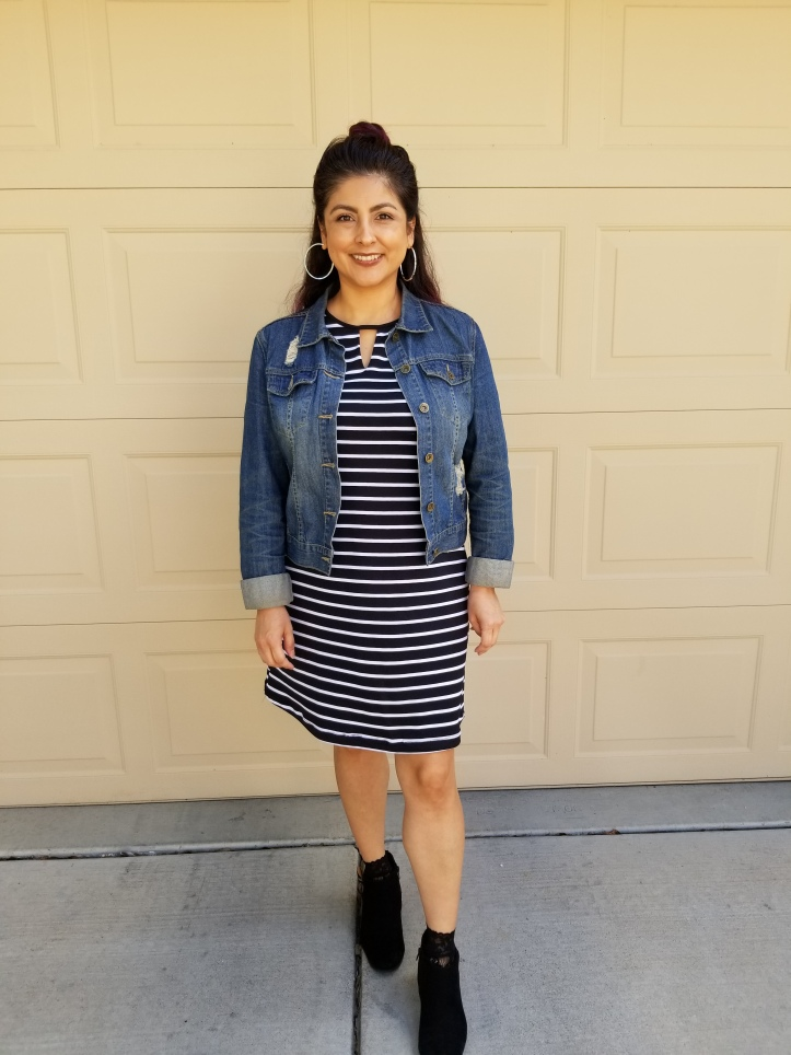 How I Styled my Fave summer dress for fall