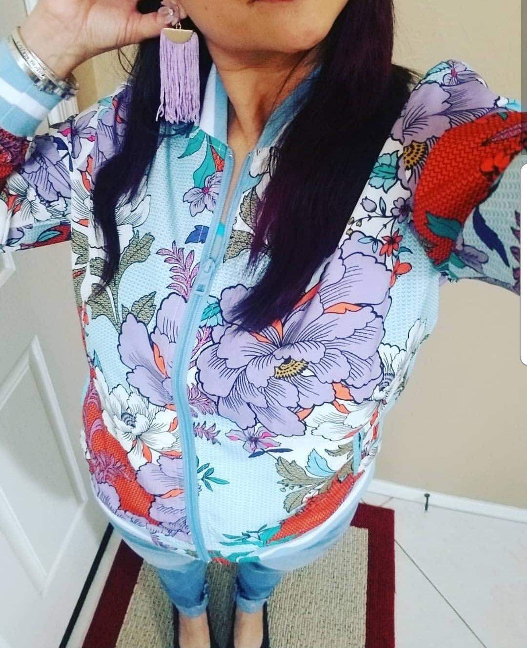 Fashion Friday bomber jacket for spring