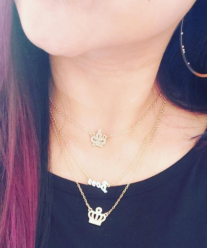 Fashion Friday layering necklaces